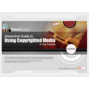 An Interactive Guide to Using Copyrighted Material in Your Courses icon