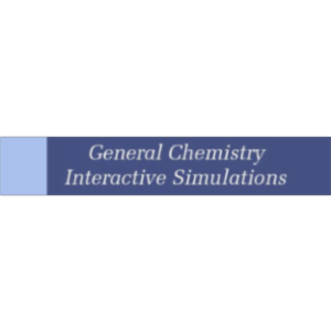Interactive Simulations for General Chemistry