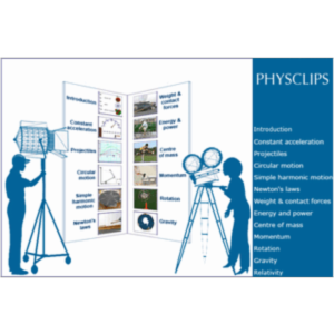 Physclips: Physics animations, film clips, interactive tutorials and supporting pages icon