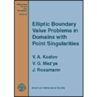 Elliptic Boundary Value Problemsin Domains with Point Singularities