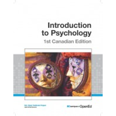 Introduction to Psychology - 1st Canadian Edition icon