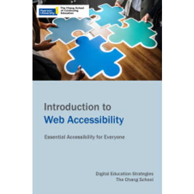 Introduction to Web Accessibility icon