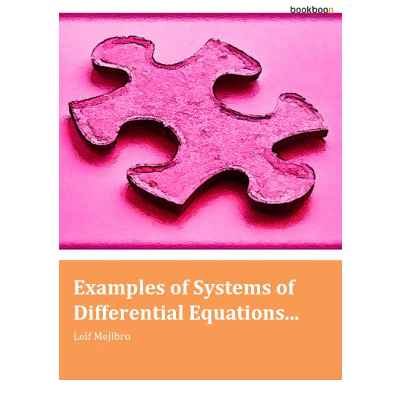 Examples of Systems of Differential Equations... icon