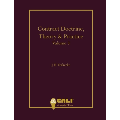 Contract Doctrine, Theory & Practice - Volume 1 icon