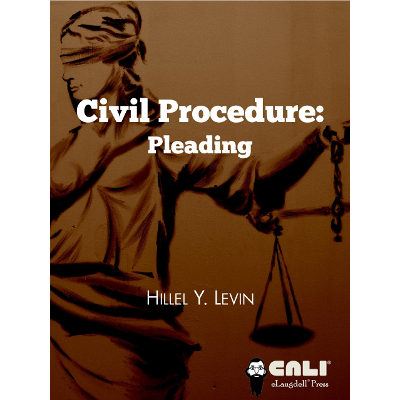 Civil Procedure: Pleading icon