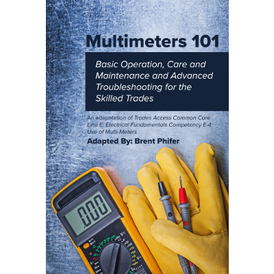Multimeters 101: Basic Operation, Care and Maintenance and Advanced Troubleshooting for the Skilled Trades icon