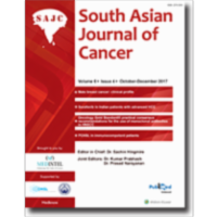 South Asian Journal of Cancer icon