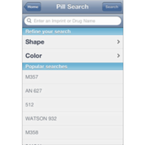 Pill Identifier by Drugs.com App for iOS icon