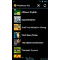 Podkicker Pro Podcast Player App for Android icon