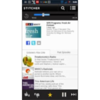 Stitcher Radio - News & Talk App for Android icon