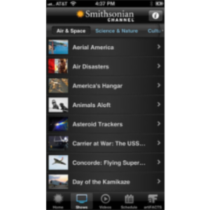 Smithsonian Channel App for iOS icon