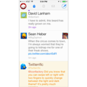 Twitterific 5 for Twitter App for iOS icon