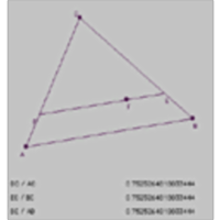 Similar Triangles icon