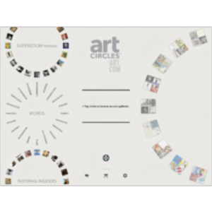 Art Circles App for iPad icon