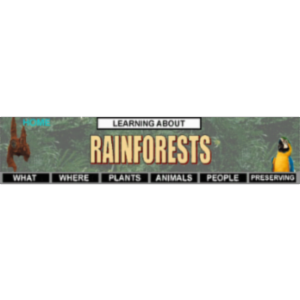 Learning About Rain Forests icon