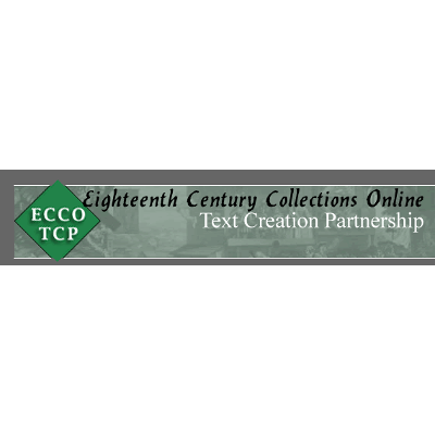 Eighteenth Century Collections Online icon