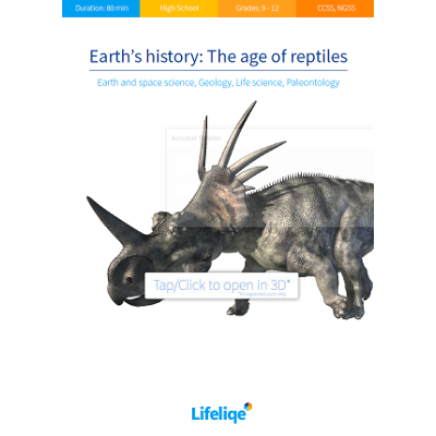 Earth's history: The age of reptiles
