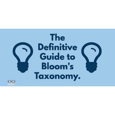The Definitive Guide to Bloom's Taxonomy. - TeacherOfSci icon