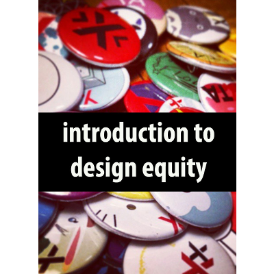 Introduction to Design Equity icon