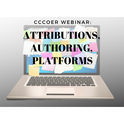 Attributions, Authoring, Platforms icon