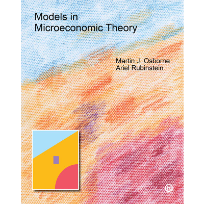 Models in Microeconomic Theory ('He' Edition) icon