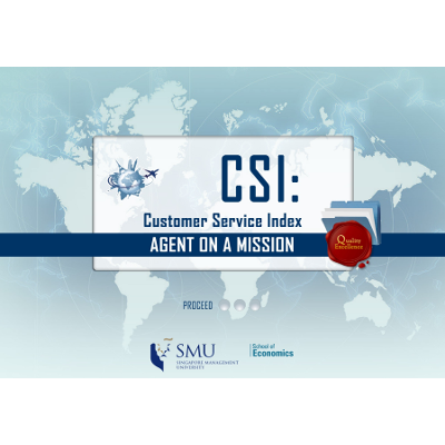 CSI: Agent on a Mission. Customer Service Index icon