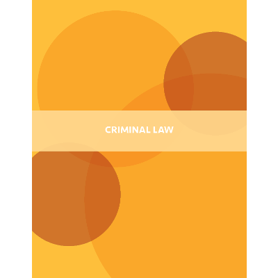 Criminal Law - Open Textbook icon