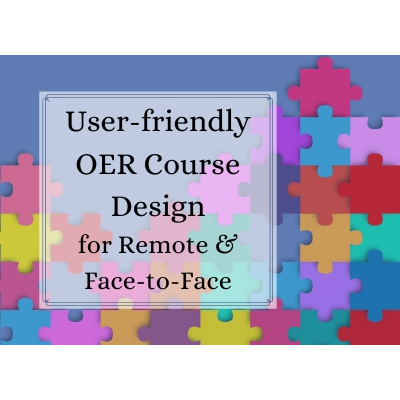 Review: User-friendly OER Course Design for...