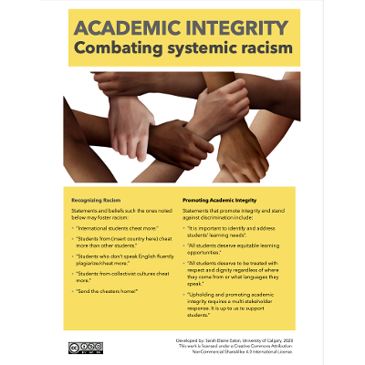 Academic Integrity: Combating Systemic Racism icon