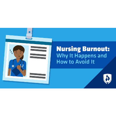 Nursing Burnout: Why It Happens and How to Avoid It | Rasmussen College icon