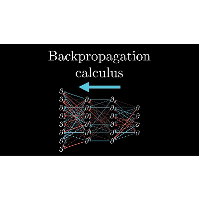Backpropagation calculus | Deep learning, chapter 4 icon