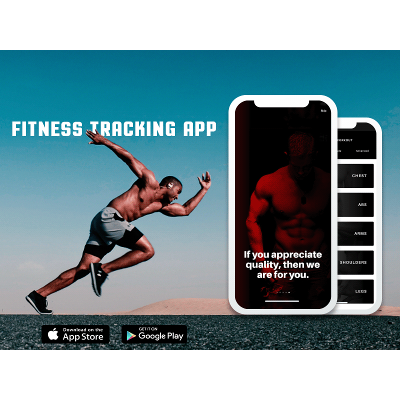 Fitness Tracking Mobile App icon