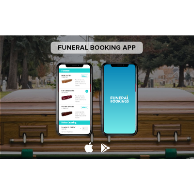 Funeral Booking Marketplace App with Digital Invitations icon