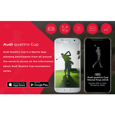 Audi Quattro Cup Application for Golf Tournaments icon