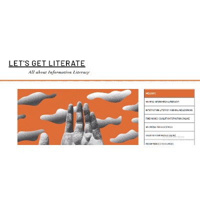 Let's Get Literate: All About Information Literacy icon