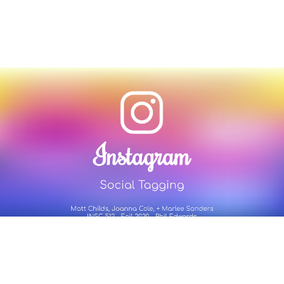 Instagram Hashtagging as an Organizing System: Slideshow icon