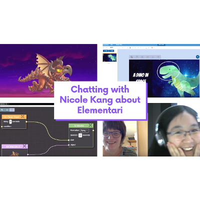 Elementari (Funding), My Dear Nicole Kang: Sustainable Funding Vlogcast for Media, Educators and Tech icon