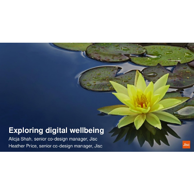 Exploring digital well-being