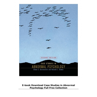 E-book Download Case Studies in Abnormal Psychology Full Free Collection icon