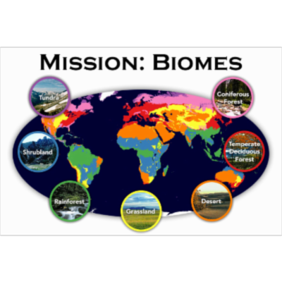 Mission:  Biomes icon