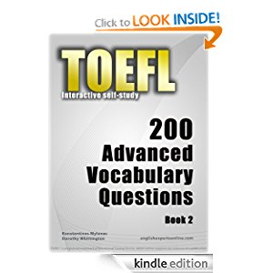 TOEFL Interactive self-study: 200 Advanced Vocabulary Questions - Book 2 icon