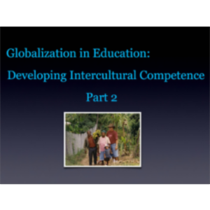 Globalization in Education: Developing Intercultural Competence Part 2 App for iPad icon