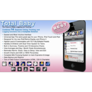 Total Baby App for iOS icon