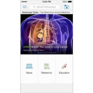 Medscape App for iOS icon