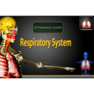 3D Respiratory System App for iOS icon