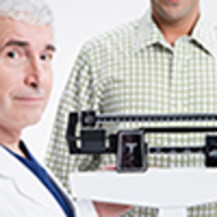 Reading Weight Measurements on a Physician Mechanical Beam Scale icon