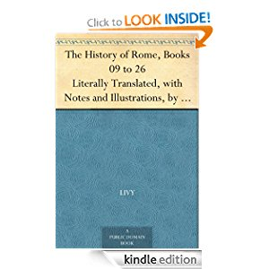 The History of Rome, Books 09 to 26 Literally Translated, with Notes and Illustrations, by D. Spillan and Cyrus Edmonds icon