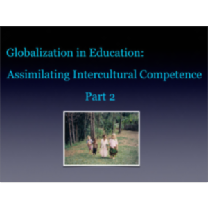 Globalization in Education: Assimilating Intercultural Competence Part 2 icon