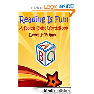 Reading Is Fun!: A Dolch Sight Words Book - Level 2 - Primer icon