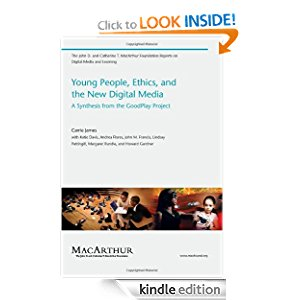 Young People, Ethics, and the New Digital Media: A Synthesis from the Good Play Project icon